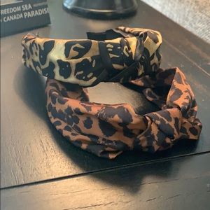 H&M Animal Print Headbands (2)